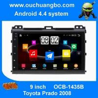 Buy cheap Ouchuangbo car navigation radio dvd for Toyota Prado 2008 with bluetooth USB big screen android 4.4 system from wholesalers