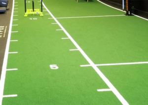 Buy cheap Anti Slip Durable Indoor Artificial Turf For Football Stadium product