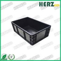 Buy cheap IC / LCD Packaging ESD Storage Bins , ESD Boxes Plastic Material With Conductive Fiber from wholesalers