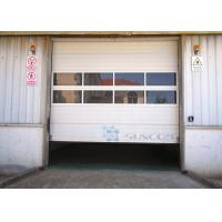Buy cheap Safely Garage Industrial Sectional Doors Overhead Doors Big Size from wholesalers