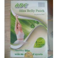 Buy cheap ABC Slim Belly Patch with Silver Genuine Mark Fast Slimming Original botanical Weight Loss Patch Herbal detox Beautiful from wholesalers
