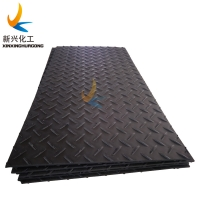 Buy cheap large Plastic heavy duty HDPE construction access road mat/plate/panel as floor mats from wholesalers
