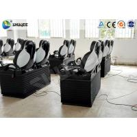 Buy cheap Pneumatic Mobile 5D Cinema With Snow / Bubble / Rain / Wind Effect 2 Years Warranty product