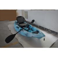 Buy cheap HDPE Plastic Kayak Fishing Boats , Blue Camo Fishing Canoe Kayak Easy Car Top Mount from wholesalers