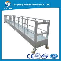 Buy cheap High rise roof suspended work platform/contruction facade cleaning equipment from wholesalers