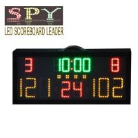Buy cheap LED display digital  electronic basketball scoreboard with shot clock display from wholesalers