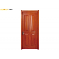 Buy cheap PU Painted 4 Panel Pinewood Plain Wooden Door from wholesalers