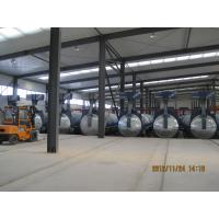 Buy cheap Concrete Autoclave with hydraulic pressure door-opening and safety interlock from wholesalers