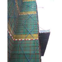 China Green vertical construction safety net around the building under construction on sale