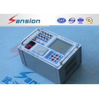 Buy cheap High Voltage Switchgear Circuit Breaker Analyzer Electronic Load Way 6 Channels from wholesalers