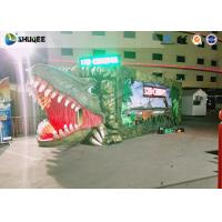Buy cheap Convenient Outdoor Mini 5D Movie Theater With Dinosaur Design For Entrepreneurs product