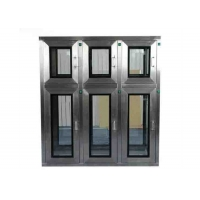 Buy cheap Free Design Drawing SUS304 Cleanroom Pass Box With Multilayer Window product