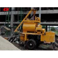 Buy cheap Mobile mini self loading concrete mixer pump Small Electric JS750 from wholesalers