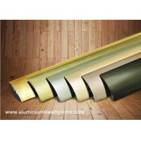 Buy cheap Multi Use Curved Surface Aluminium Floor Trims With Brushed Effect For Hotel Project from wholesalers