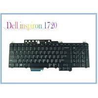 Buy cheap Black Keyboards LA Layout New Keyboards For DELL inspiron 1720 1721 BLACK Laptop Replace from wholesalers