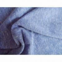 Buy cheap 50% Poly, 38% Cotton and 12% Rayon Jersey Knitted Fabric P/D with 130gsm Weight from wholesalers