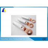 Buy cheap Bimetal Cu / Al Electrical Cable Lugs Connector Electrochemlcal Corrosion Resistant from wholesalers