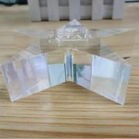 Buy cheap Eco - Friendly Acrylic Shapes Craft Custom Gifts Blanks Design Plaque Award product