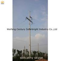 Buy cheap Transmission line steel tubular tower from wholesalers