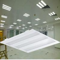 Buy cheap High Lumen Cutout 600*600mm 30w Smd 2835 Led Grille Lamp , LED Grid Lighting from wholesalers