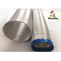 Buy cheap Eco - Friendly Aluminum Flexible Vent Pipe Fireproof For Aeration System from wholesalers