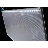Buy cheap PMMA Acrylic LGP LED Panel , Clear Acrylic Light Panel For Public Places product