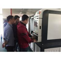 Buy cheap 500w 1000w high precision fiber Metal Laser Cutting Machine for iron , copper , steel plate from wholesalers