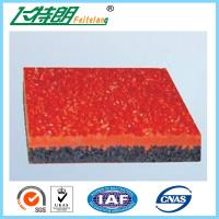 Buy cheap Customized Thickness Jogging Track Flooring Without Harmful Substance from wholesalers
