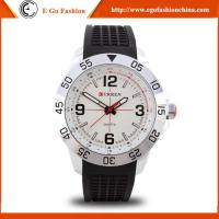 Buy cheap 8181 Curren Watch for Sports Boy Hip Hop Dancing Watches Wristwatch Silicone Sport Watch from wholesalers