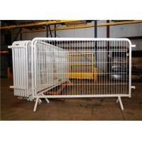 Buy cheap Hot Dip Galvanized Safety Barrier Fencing Mesh Corrosion Resistance 110x200cm 250cm from wholesalers