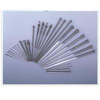 Buy cheap Nitride ejector pin, HSS ejector pin, mold pin ,injection mold pin from wholesalers