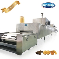 Buy cheap High Productivity 800mm Biscuit Baking Machine Industrial Cookie Oven from wholesalers