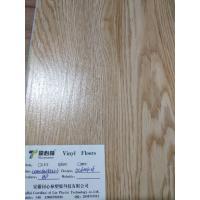 Heat-resistance SPC Vinyl Flooring Coordinated Lin , Office Grey Vinyl Plank Flooring