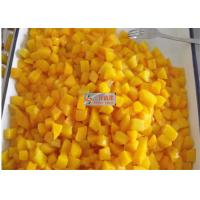 Buy cheap Healthy canned yellow peach slices in light syrup / Peeled halves yellow peach from wholesalers