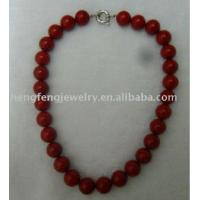 Buy cheap Hf-c0125 Natural Red Coral Necklace from wholesalers