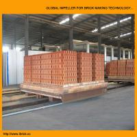 Buy cheap New technical design clay brick tunnel kiln project with brick dryer chamber from wholesalers