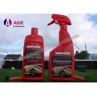 Buy cheap Red Color Realistic Shape Inflatable Promotional Products Bottle Food SGS from wholesalers