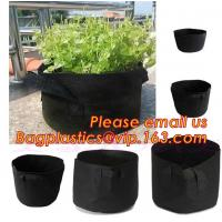 Buy cheap fabric pots grow bag felt garden bag with handle,Hydroponic Grow Bag 1 Gallon Containers With Handle,Eco-friendly High q from wholesalers
