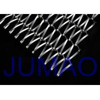 Buy cheap Spiral Ceiling Decorative Wire Mesh Tensile Facades For Building Cladding product