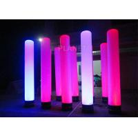 Buy cheap Colorful Inflatable Column Built In Blower With Led Light / Repair Kit from wholesalers