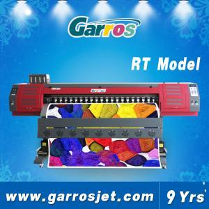China 1.8m Digital Fabric Printing Machine for Printing on T-shirts Polyester Vinyl on sale
