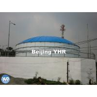 Buy cheap Round Cylindrical GFS Potable Water Storage Tanks Aluminum Flat Roof from wholesalers