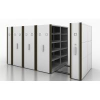 Buy cheap Manual Assist Push - Pull Rolling Mobile Shelf Storage UnitWith 2 Bays from wholesalers