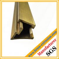 China C38500 CuZn39Pb3  CuZn39Pb2 CW612N C37700 Leaded copper alloy Brass extrusion profiles Sections on sale