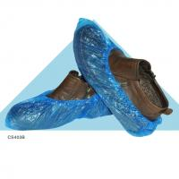 Buy cheap China manufacturer plastic pe blue shoe cover for used in ice and snow from wholesalers
