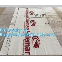 Buy cheap top covers clear plastic window covers printed pallet covers, Jumbo PE Plastic Type Reusable Pallet Cover, Gusseted Side from wholesalers