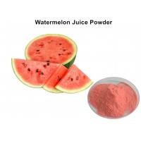 Buy cheap Natural Red Watermelon Fruit Juice Powder Organic Freeze Dried No Additive For Drink from wholesalers
