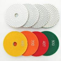 Buy cheap 100mm Turbo Resin Bond Wet Polishing Pads For Various Stone Surface Polishing from wholesalers