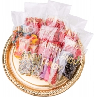 Buy cheap 100pcs Transparent Christmas Bridal Baby Shower Candy Bags For Birthday Parties Kids from wholesalers