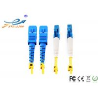 Buy cheap Single Mode Duplex Fiber Optic Patch Cord High Temperature Stability Compact Design from wholesalers